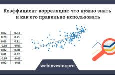 Коэффициент корреляции: что нужно знать, формула, пример расчёта в Excel