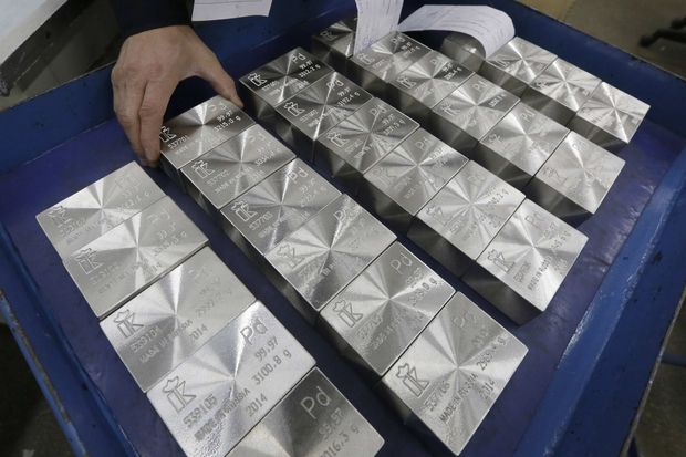 Почему палладий стал дороже золота